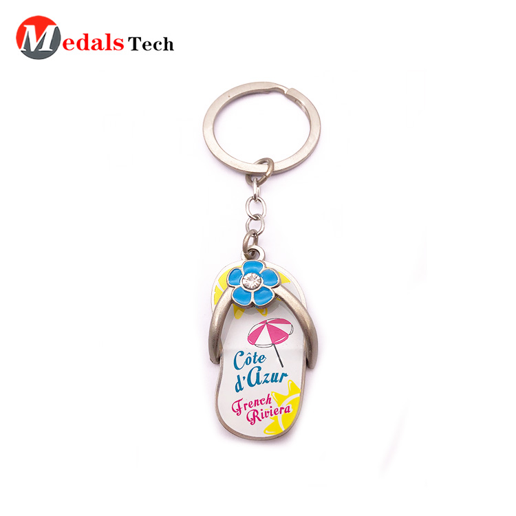 Promotional custom horse shaped souvenir metal  keychain