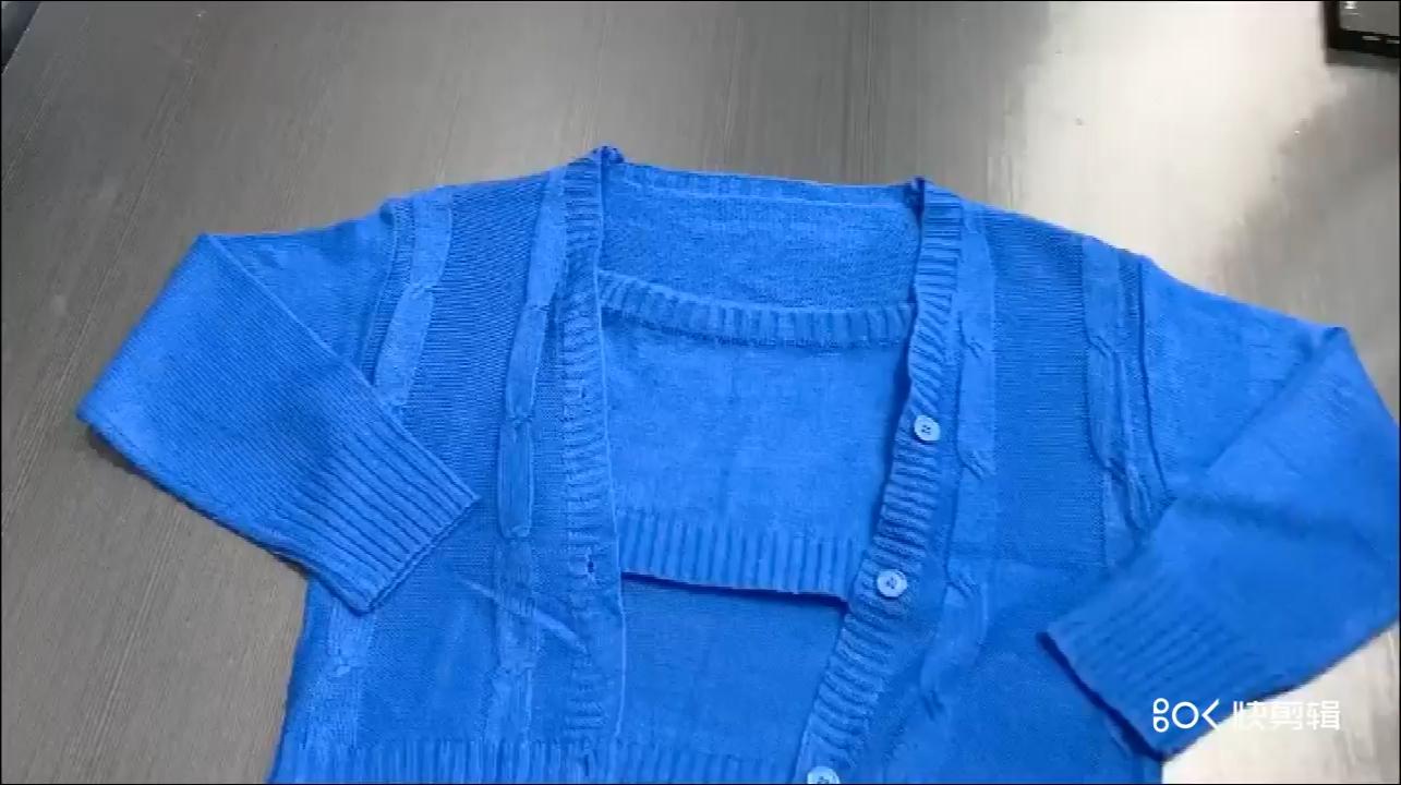 Amazon Tùy Chỉnh Người Lớn Phù Hợp Với Váy Mỏng Trang Phục Rắn Đan Áo Len Cardigan 3 Mảnh Thiết Lập Phụ Nữ Quần Áo Nhà Máy Bán Buôn