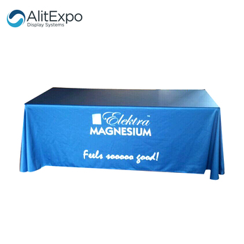 Custom Advertising Table Cover Decorative Table Cover For Sale