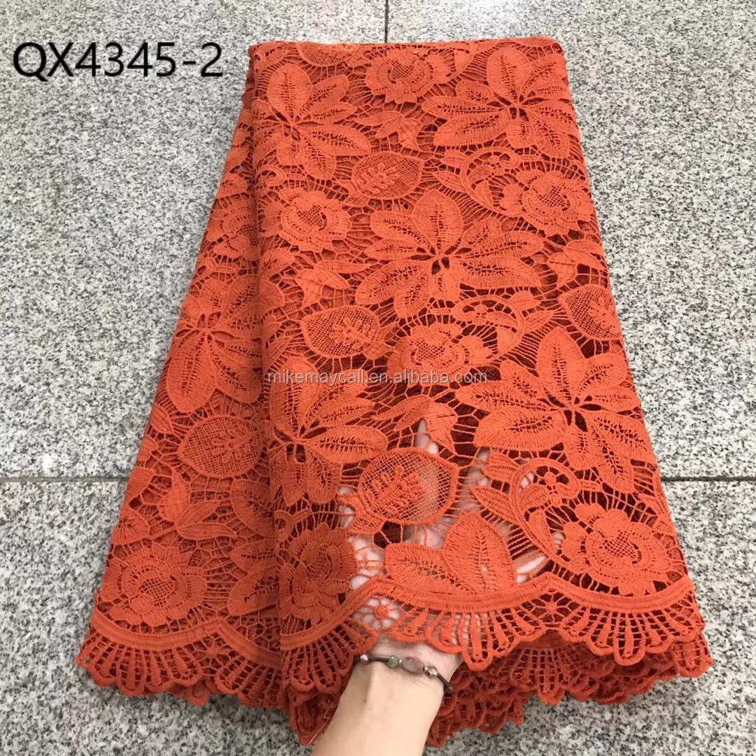 2021 latest design cord lace fabric for nigerian wedding,african guipure cord laces 5yards wholesale