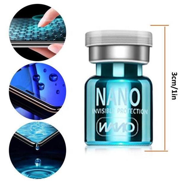 2020 new hot sales Universal Waterproof Coating Anti-fingerprint Hi-tech Nano Liquid Screen Protector For Mobile Phone