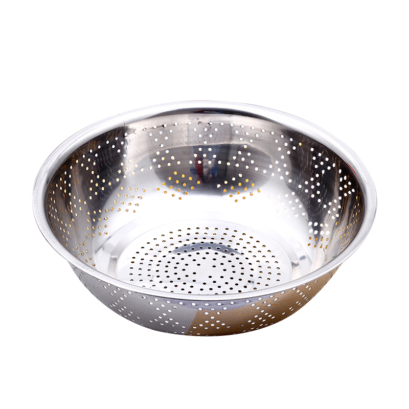Stainless Steel Rice Sieve Wash Rice Pots Meters Basin Boulimia
