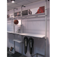 Metal Sport Custom Clothing Display Store Fixture for Shop