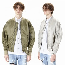 OEM dropshipping stock orange bomber <span class=keywords><strong>giacca</strong></span> mens