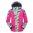 Winter Clothes Thick Warm Waterproof Girl Promotional Softshell Jacket