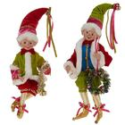 Wholesale Handmade Christmas Elf with Brilliancy Color for Kids Gift