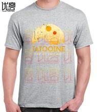 Новинка 2020, футболка с принтом «Звездные войны», Funko Pop, хлопковые футболки с круглым вырезом, большие размеры, мужские футболки с коротким ру...(Китай)