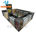 Retail Display Cabinet For Mobile Phone Counter Sales & Repair Phone Cases Kiosk Cell Phone Mall Kiosk