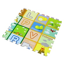 Großhandel Durable Haushalt Baby Kinder Puzzle Verriegelung Thermische Transfer Boden <span class=keywords><strong>Matte</strong></span>