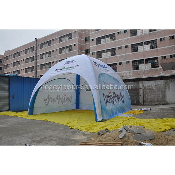 Outdoor Sport Display <strong>Trade</strong> Show Outdoor Digital Dye Sublimation Printed Inflatable Tents For Event