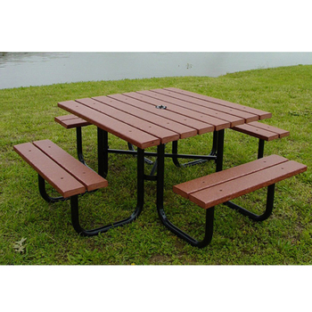 outdoor recycled plastic picnic tables furniture