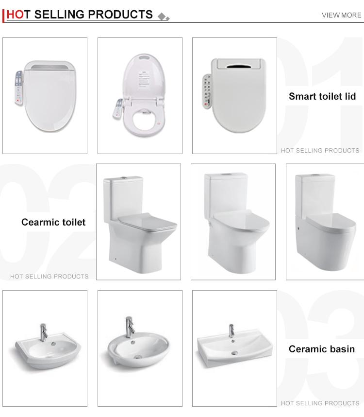 아마존 최고 판매 Ce 인증서 wholesales 일본 wc 자동 가열 전기 변기