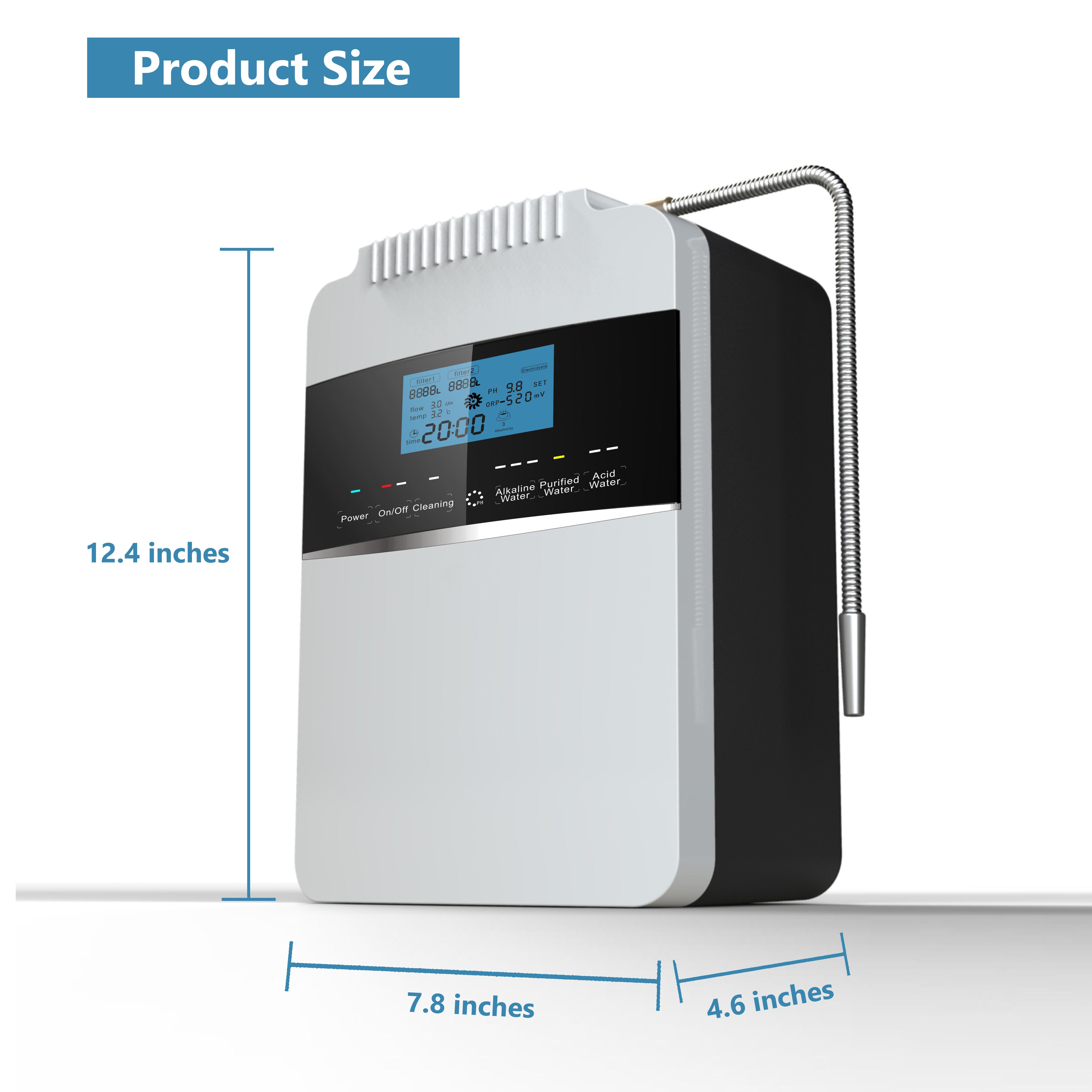 EHM Ionizer home used alkaline filters water supplier for home-7