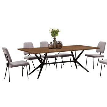 Hot sell dining tables foshan china for home furniture formal dining table set from foshan furniture