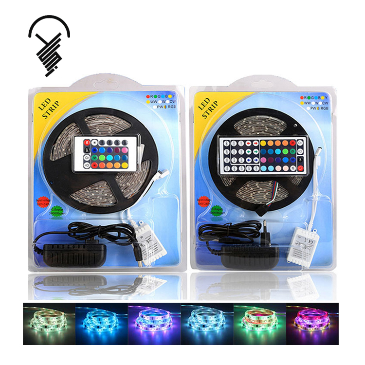 Factory Direct DC 12V 5050 LED Waterproof IP65 Light Strip RGB Light Strip Set