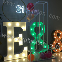 Christmas flower decoration, 3d large flower love letters wedding