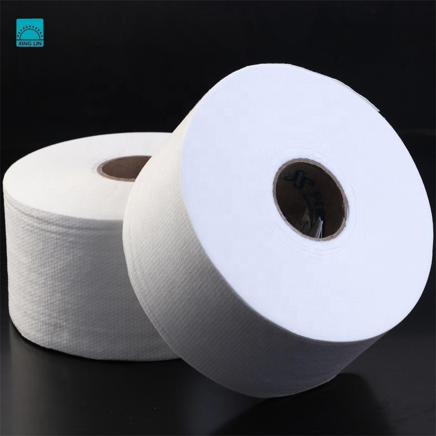 [FACTORY] 50%viscose 50%polyester white spunlace non woven fabric