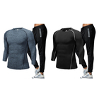 autumn dry fit gym wear mens sportswear jogging suits