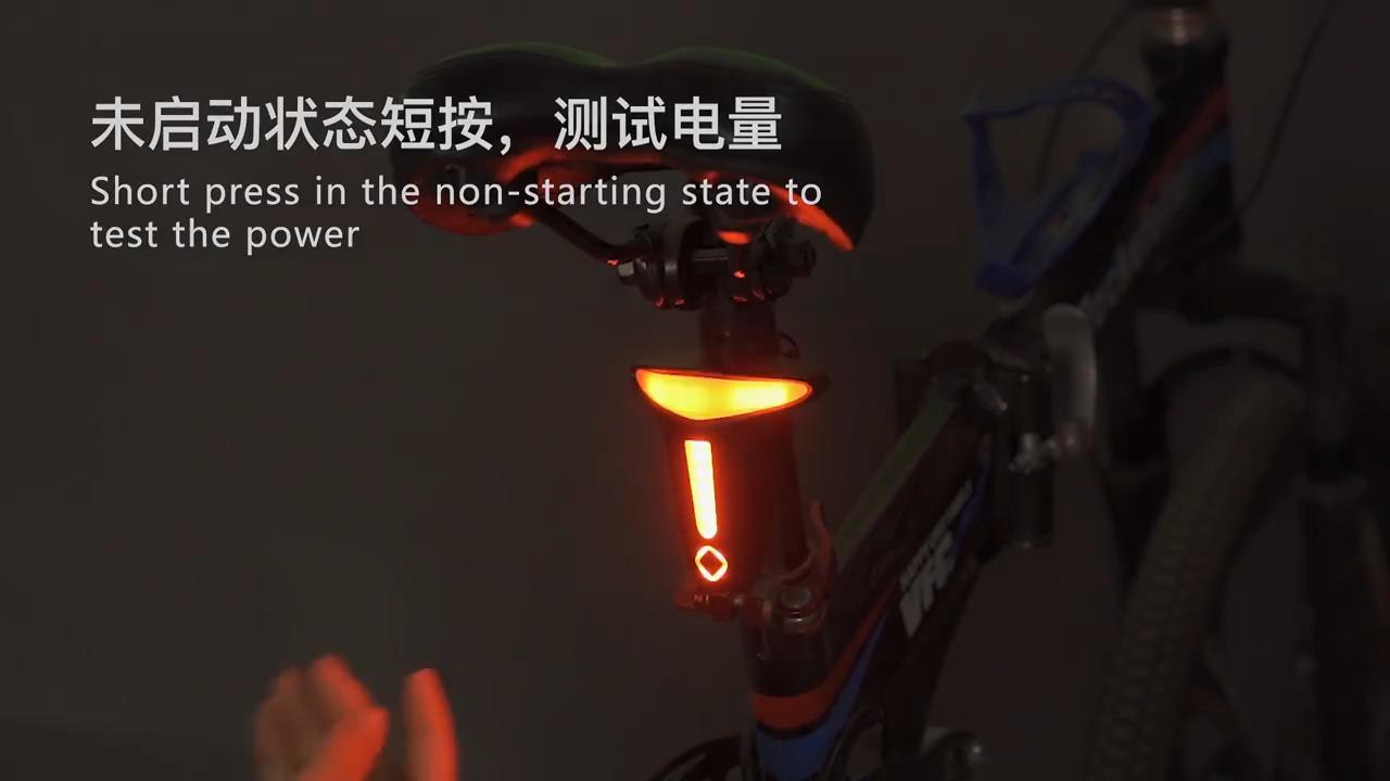 Shenzhen Pabrik Multifungsi Sepeda Sepeda Bentuk T Ekor Lampu