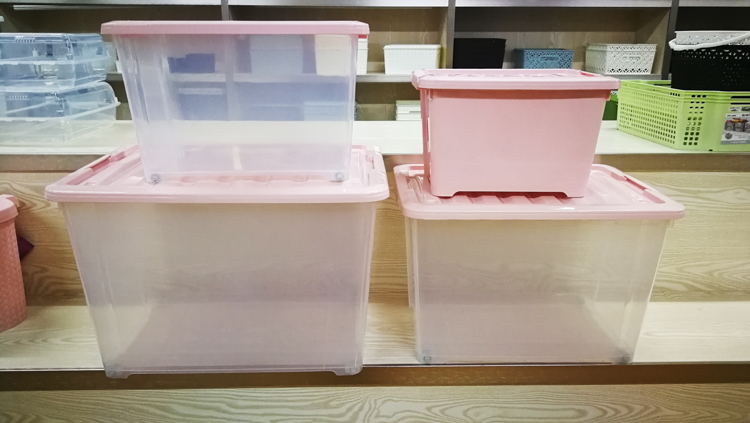 4 size large household storage clothes organizer  box