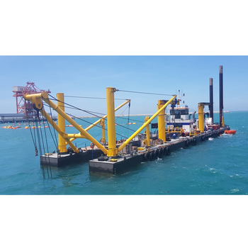 CSD650 26 inch river sand cutter suction dredger for for malaysia