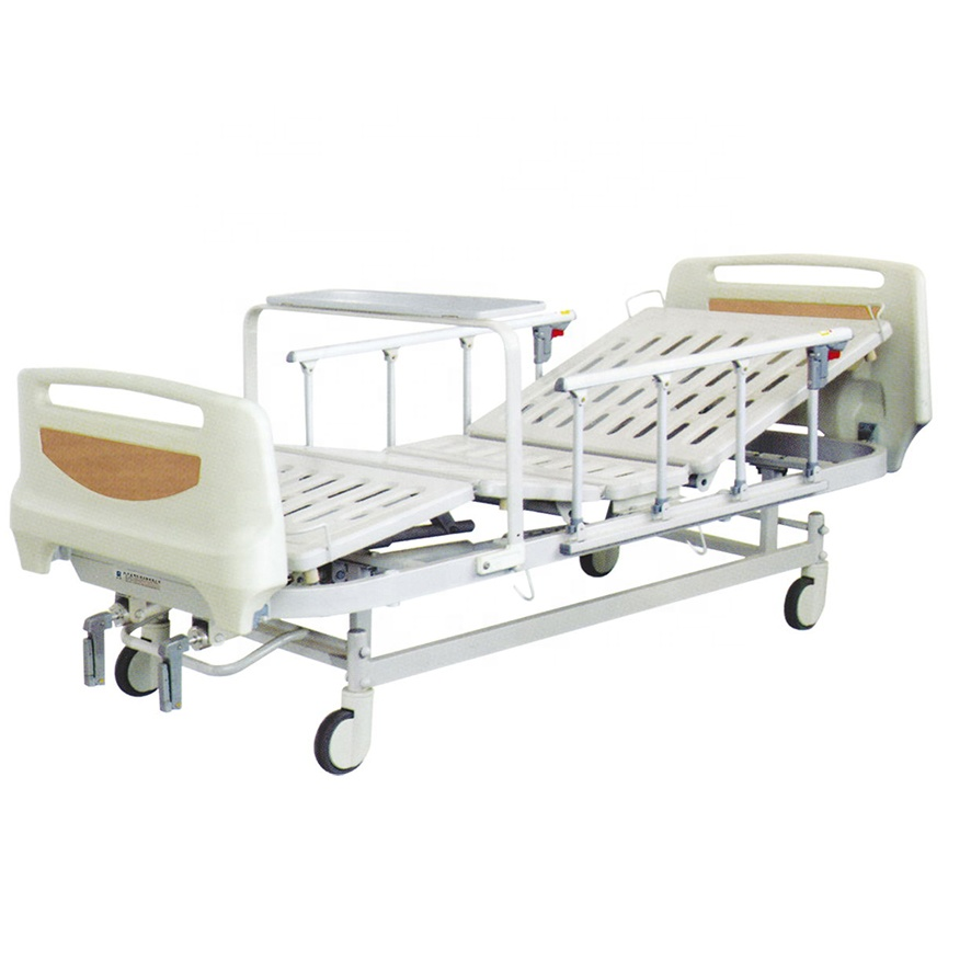 Simple Hospital Bed 2 Cranks Manual Nursing <strong>Home</strong> Bed <strong>For</strong> <strong>Sale</strong>
