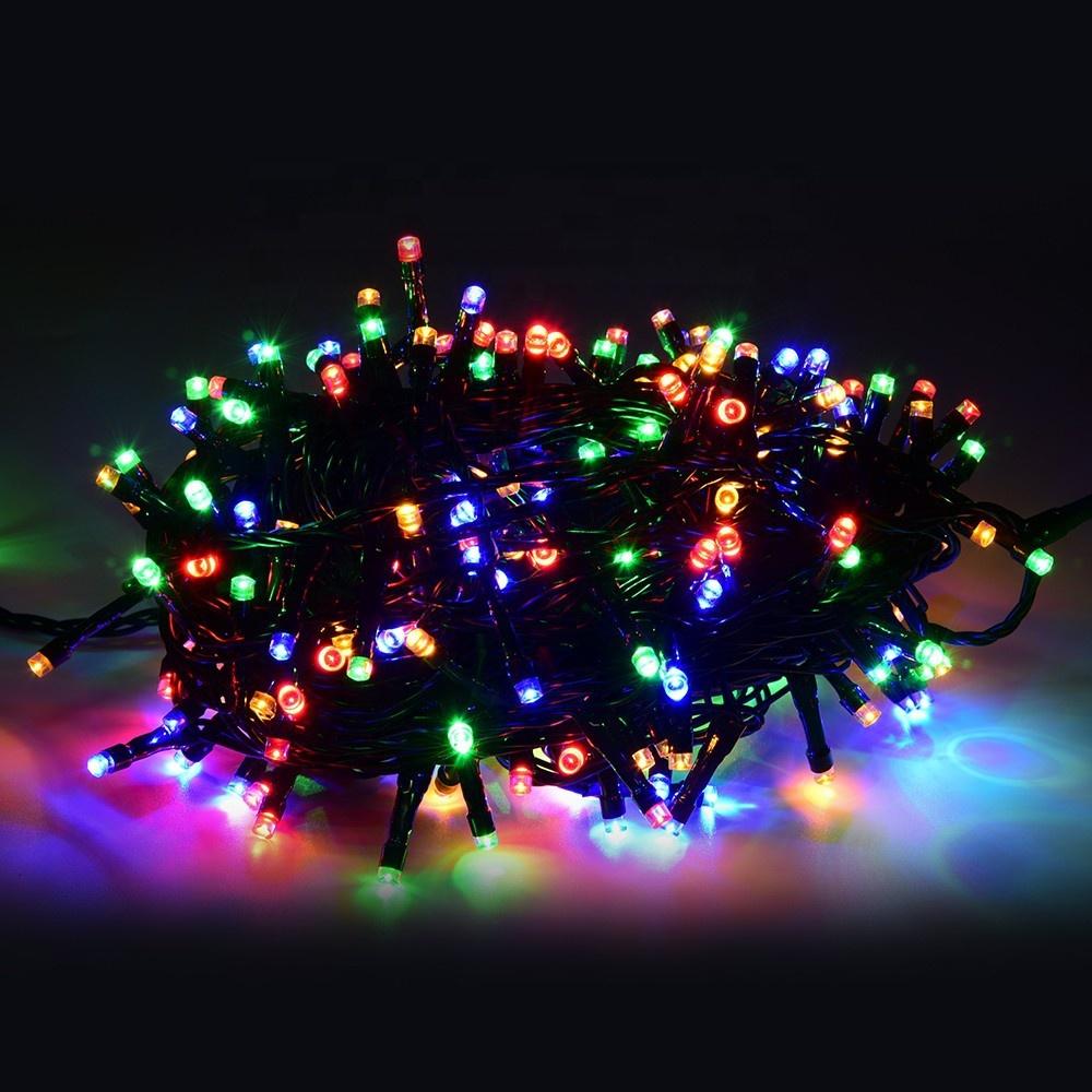 Özel düğün açık parti şenlikli dekoratif led dize ışık noel ağaç ışıkları