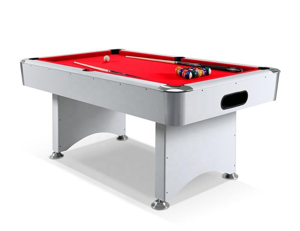 Indoor Sport 84/96 inch Snooker Pool Biljart Tafel Met auto ball return systeem