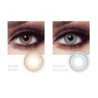 High Quality 14.5mm Color Contact Lens Beauty Colored Lenses Cosmetic for Eye Bella Sandy Brown Lenses