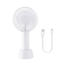 Новый мини ручной вентилятор ABS портативный вентилятор для офиса на открытом воздухе бытовой путешествия сильный ветер вентилятор(China)