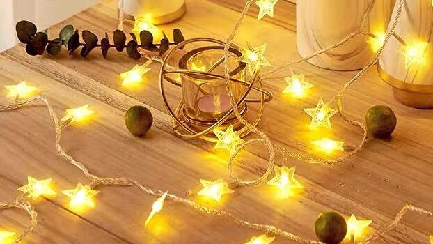 Hot Sale 110V 220V Outdoor/ Indoor 3メートル20 Twinkle Stars Home LED Decoration Lights