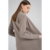 Factory Price Loose Long Sleeve Sweater Pocket Not Hooded Women's Girl Knitted Cardigan