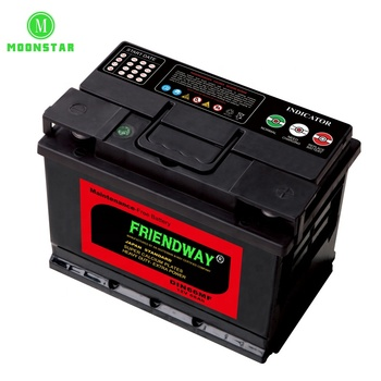 Factory direct sale top auto green power battery 55ah market with high quality