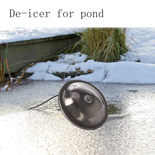 Heto Pond Heater and De-icer for fish Pond Water Feature Garden,100W,150W,200W,250W,300W