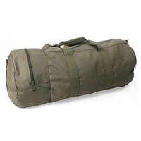 Cotton Canvas Large Shoulder Bag for Sports, Gym, Work, Everyday, Travel, Camping, Hiking, Overnight, Weekend Duffle Bag