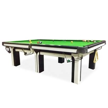 10Ft size <span class=keywords><strong>China</strong></span> Stijl Vierkante been Snooker <span class=keywords><strong>Biljart</strong></span> Tafel met Stalen Kussen