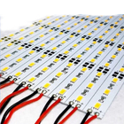 Hard LED Strip 5050 SMD Cool Warm White 0.5LEDs Bar Light Non-waterproof DC 12V High Bright Led Rigid Strip Lamp