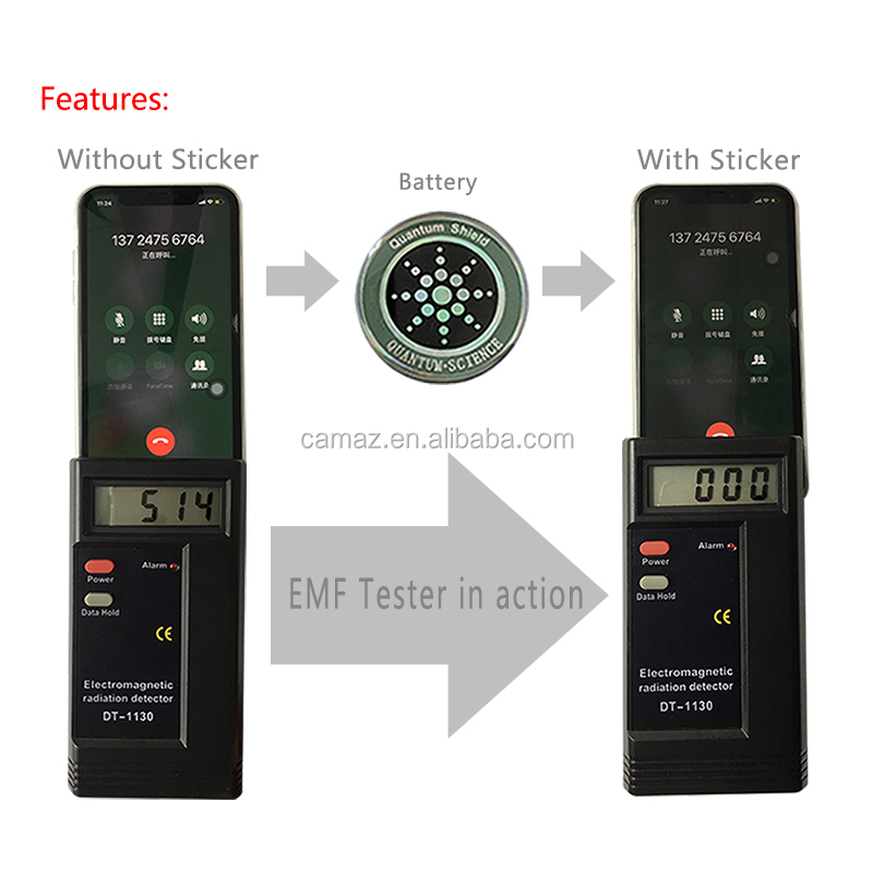 Factory price Against EMF/EMR bio energy quantum shield, OEM with logo