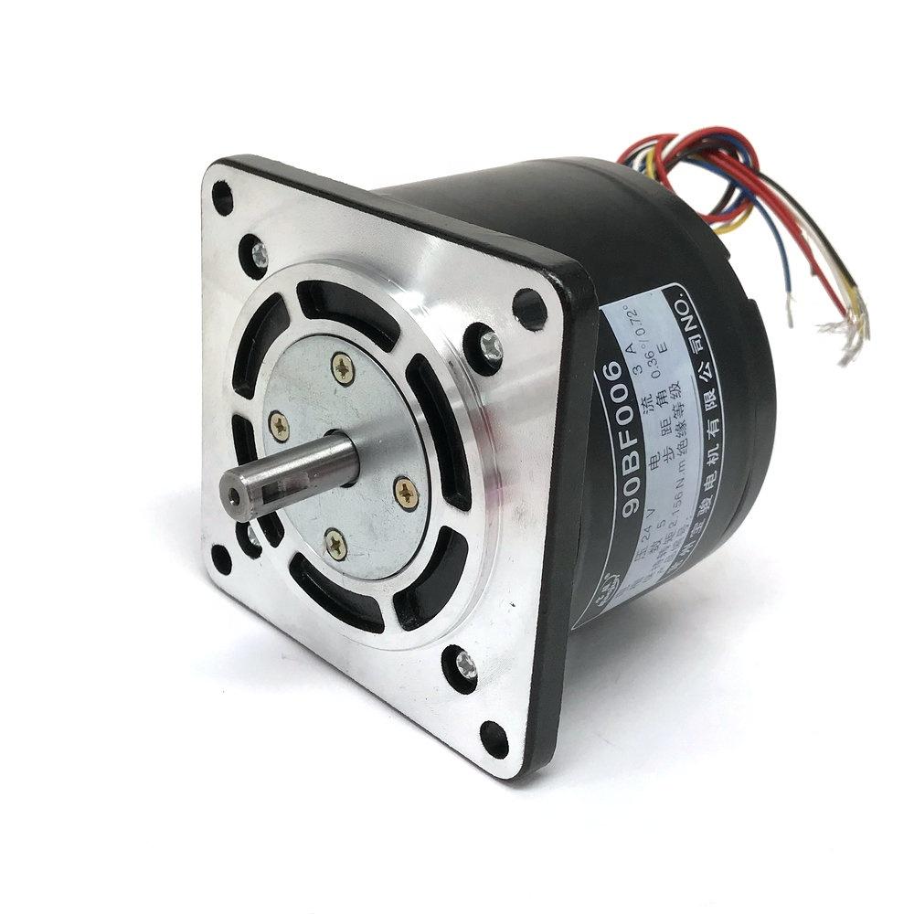 WEDM 5 Phase Stepper Motor 90BF006 24V for CNC Wire Cut WEDM Machine