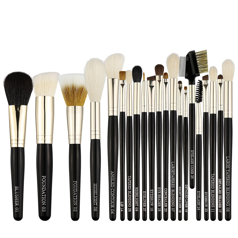 Beili 21pcs Multifunction Foundation <strong>makeup</strong> brush pinceau maquillage Professional <strong>makeup</strong> brush set <strong>sample</strong>