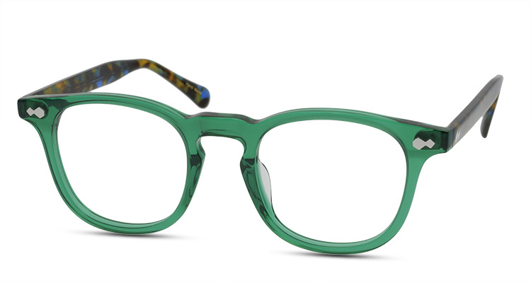 High Quality Fashion Trendy Italy Style Square Acetate Optical Frame