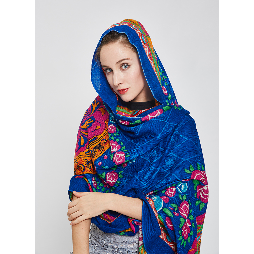 wool viscose wholesale muslim hijab scarfs women prayer instant shawl ladies scarf