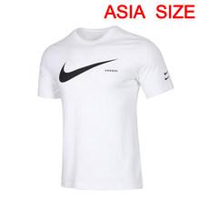 Оригинальный Новое поступление NIKE AS M NSW SWOOSH HBR SS футболка мужские футболки с коротким рукавом спортивная одежда(Китай)