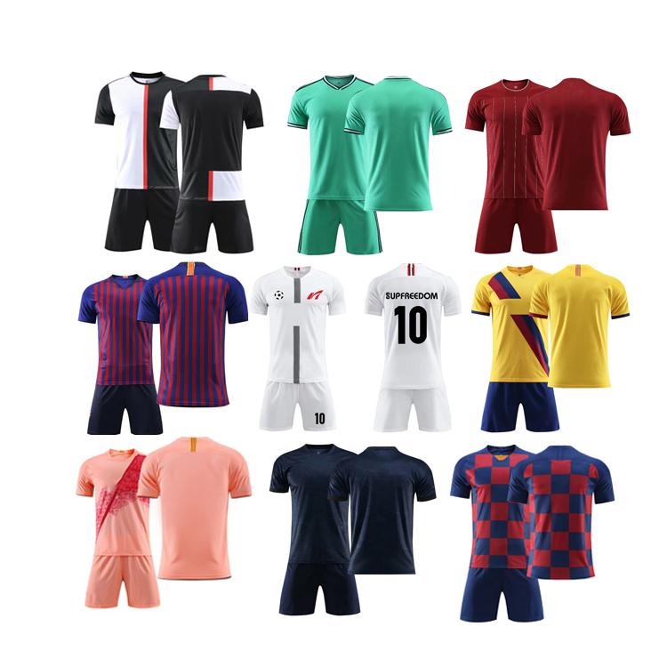 ฝึกฟุตบอล jerseys เสื้อฟุตบอลที่กำหนดเองชุดฟุตบอลสำหรับฟุตบอลทีม Club School