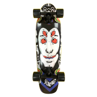 Custom 27inch Wood Single Kick Deck Mini Cruiser Skate Board Completed With Printing