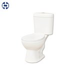 Europe style ceramic sanitary ware two piece toilets