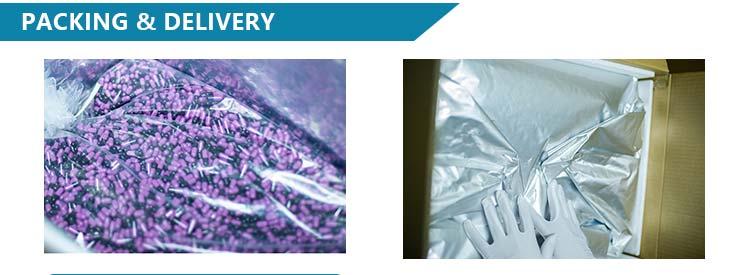 Separados claro vazio cápsulas de gelatina tamanho 0