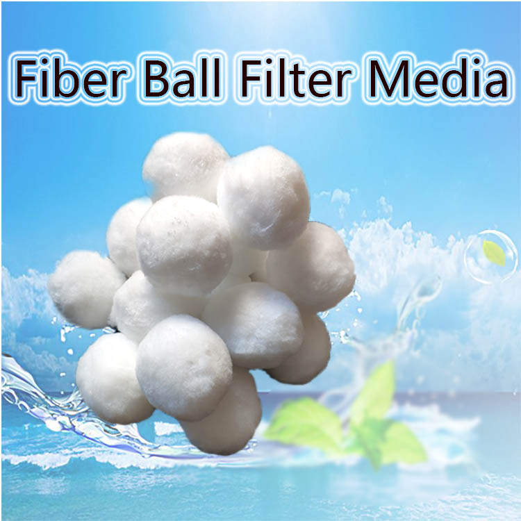 Aquarium Filter Bio Ballen Fiber Media Voor Waterbehandeling