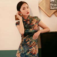 JSP0002 Ethnic dress chinese dress traditional cheongsam qipao