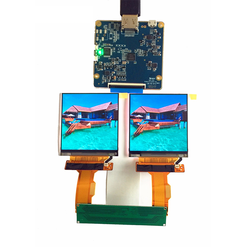 LS029B3SX02 2.9 inch 1440*1440 TFT LCD MIPI Screen 2K Dual LCD Displays with HDMI to MIPI Driver Board for VR AR project